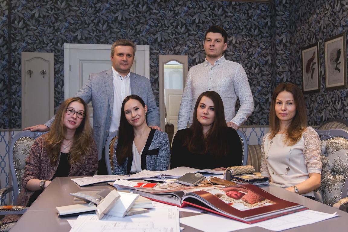 дизайнеры студии интерьеров Ирины Дворак