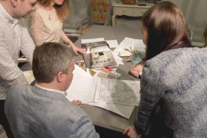Наша команда за разработкой проекта