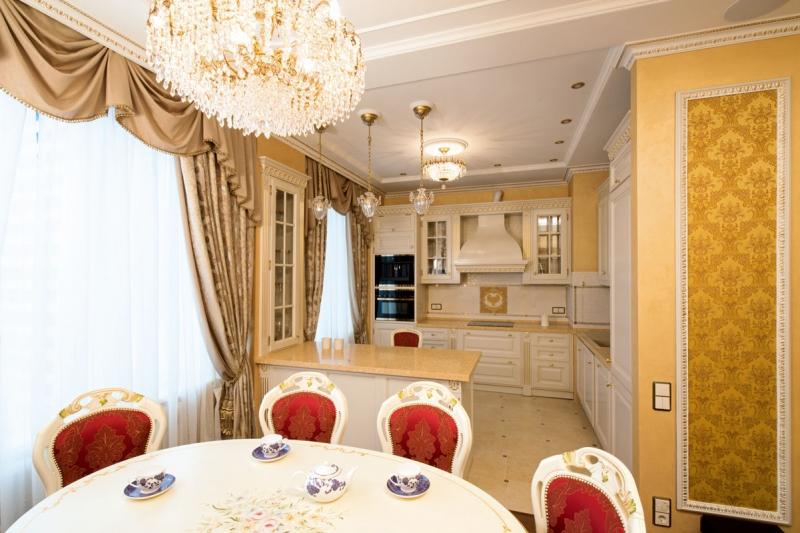 Квартира Северное Чертаново 118 кв.м. Итальянская классика